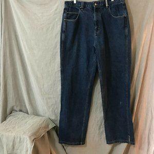 Vintage Jordan Mens Blue Jeans Size 36 W 34 L